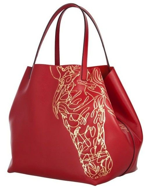 Carolina-Herrera-Matryoshka-Bag-with-Horse-Print-2