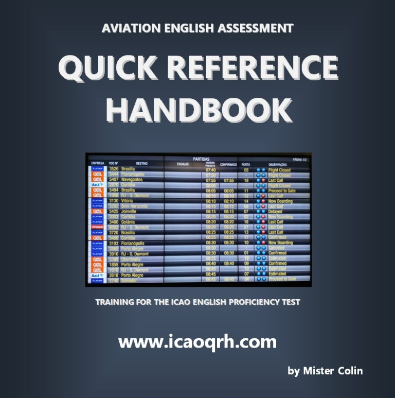 ICAO Test - Quick Reference Handbook
