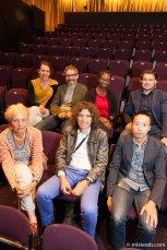 Nice group shot of Marjetica Portrc + Ooze, Krijn de Koning, rootoftwo and Will Kwan