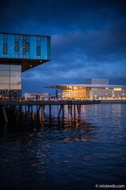 Skuespilhuset, looking across to Operaen