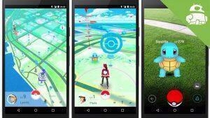 Un aperçu de Pokémon Go sur Android