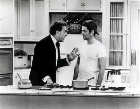 Are you old enough to remember this Odd Couple? (Jack Klugman and Tony Randall in the Odd Couple on ABC, 1973)