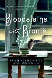 Bloodstains with Bronte cover