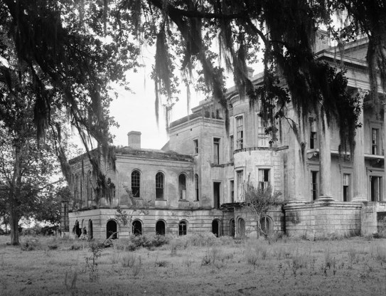 a portion of Bell Gorve plantation house