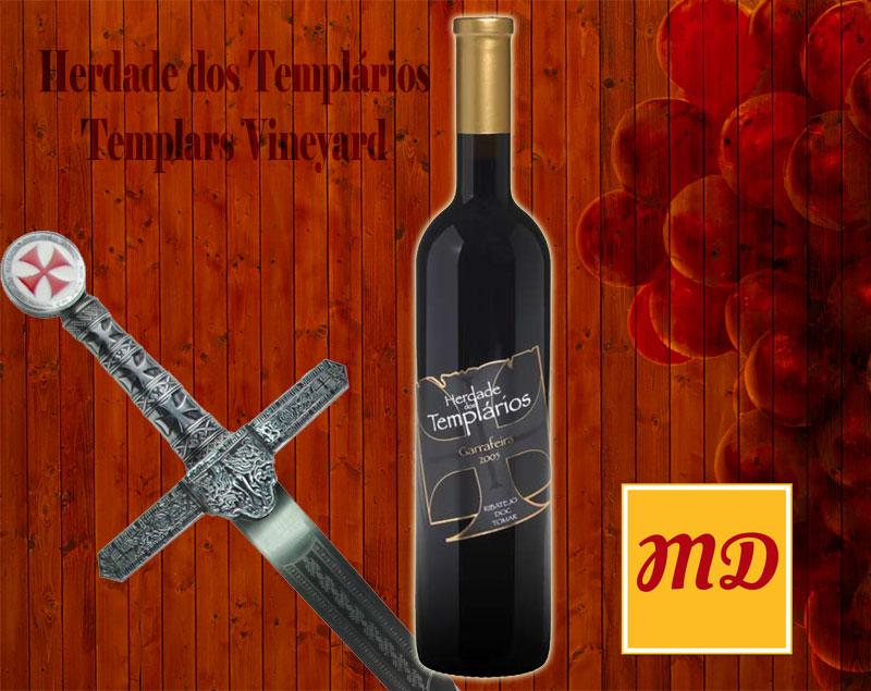Red wine Herdade dos Templarios Garrafeira