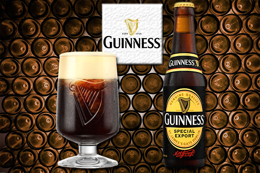 Beer Guinness Special Export
