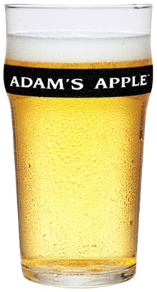 Draught Cider Adam's Apple glass