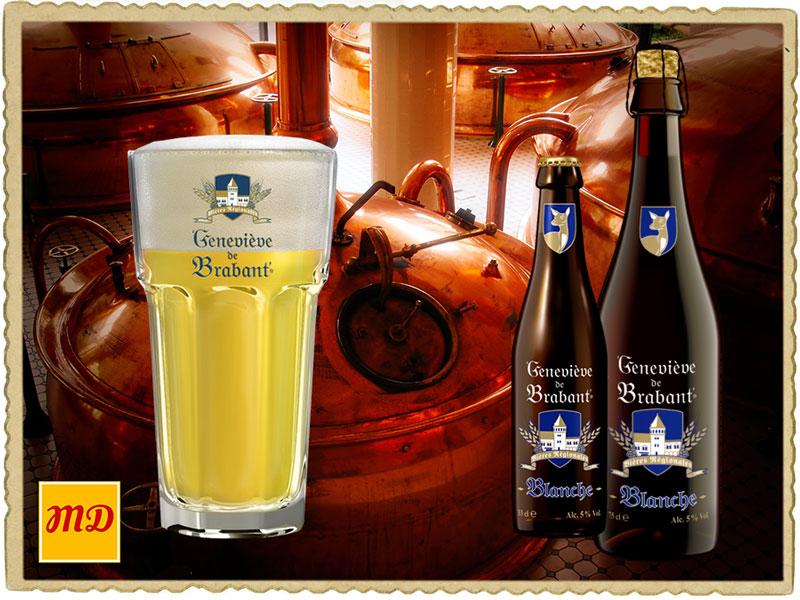 Beer Geneviève de Brabant Blanche