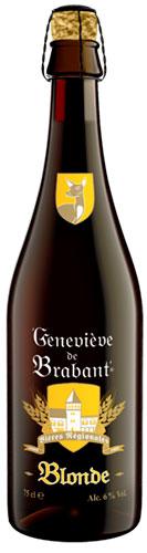 Beer Geneviève de Brabant Blonde bottle