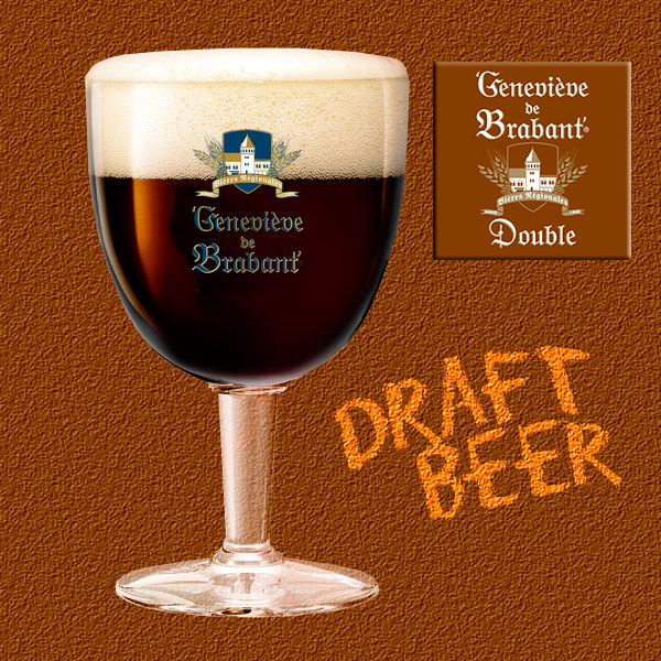 Draught beer double