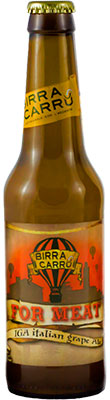 Italian Beer for Meat 33cl