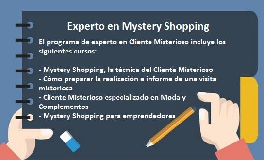 Curso de Experto en Mystery Shopping