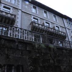 Fachada principal del antiguo Palacio.