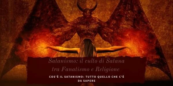 Il diavolo simbolo del malvagio e incarnazione di Satana nel satanismo.
