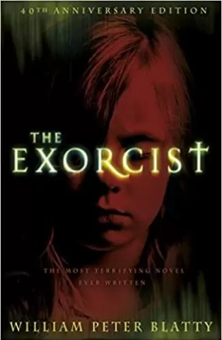 "Copertina del libro di William Bett: ""The Exorcist""."