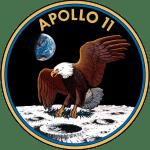 L'acquila calva, il sombolo della missione Apollo 11 che portò il primo uomo sulla luna.