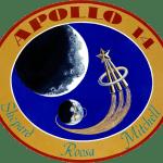 Emblema dello sbarco sulla luna Apollo 14.