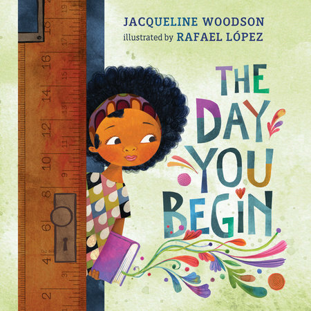 The Day You Begin Book Cover.
