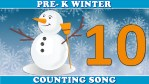 winter learn to count song