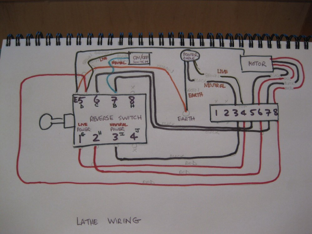 medium resolution of lathe wiring schematic wiring diagram for you