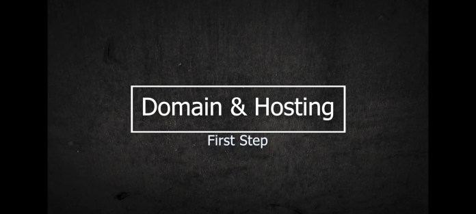 how to make website- First Step