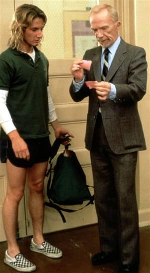 L'acteur portera ces chaussures tout au long du film.