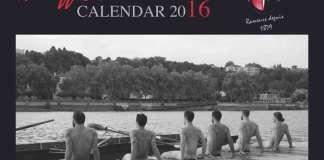 Calendrier 2016 des Dieux de l'Aviron