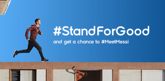 Stand for Good - Lionel Messi rencontre son double avec Ooredoo