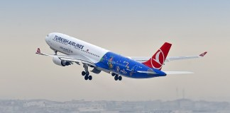 Avion UEFA EURO 2016 turkish airlines sponsor