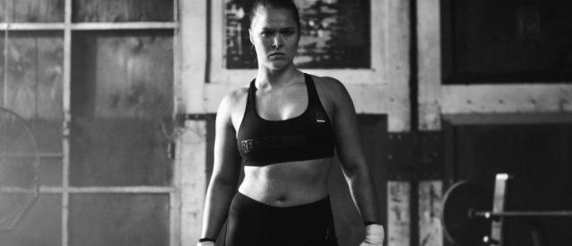 PerfectNever Ronda Rousey Rebook Be More Human