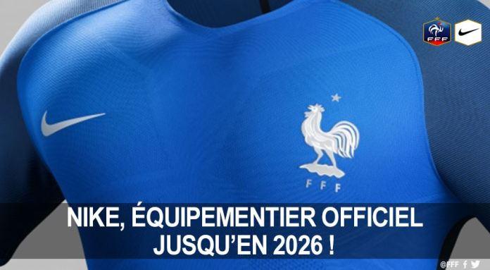Nike prolonge avec la FFF