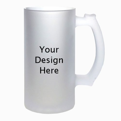 16 Oz Frosted Beer Mug