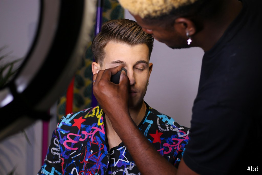 Maquillage pour homme Mister Universel France