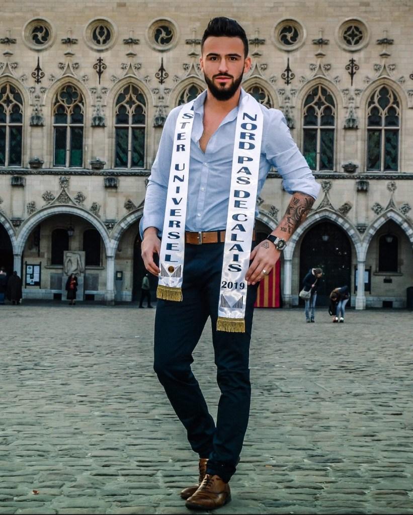 Mister France Nord Pas De Calais MUF2019 Candidat