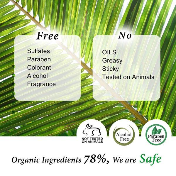 Cos De BAHA Peptide Serum organic ingredients
