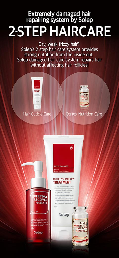 Solep Nutritive Hair LPP Treatment