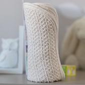 using a wash cloth