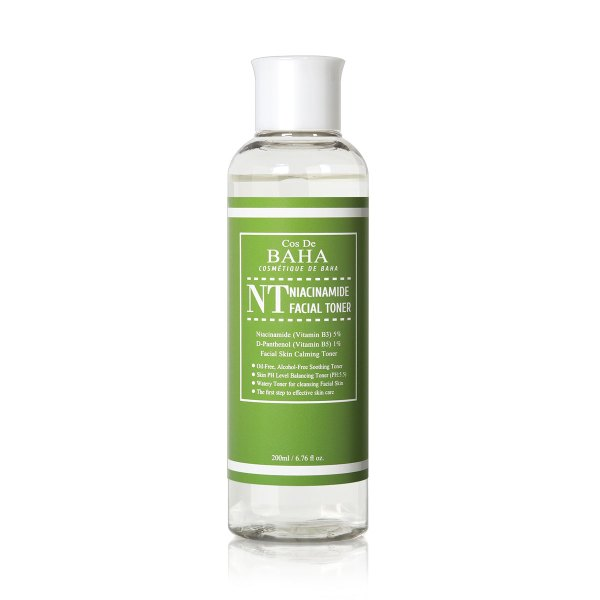 Cos De BAHA Niacinamide Facial Toner Hydrating, Pore Minimizing 200ml