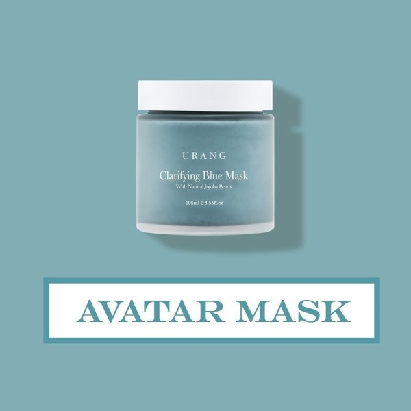 blue avatar mask