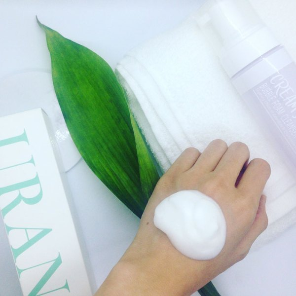 Natural Foam Cleanser for sensitive skin