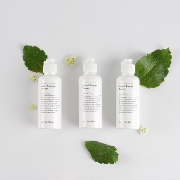 Incellderm Active Clean-up Powder ingredients