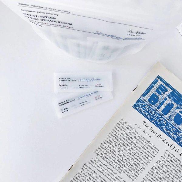 восстанавливающая сыворотка в индивидуальной упаковке