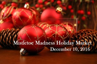 Mistletoe Madness Holiday Market December 10, 2016