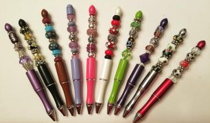 Beads and More custom beaded pens