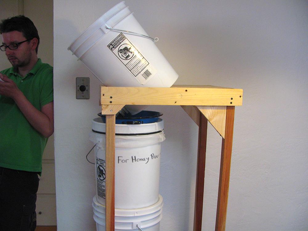 Gravity Honey Filtering