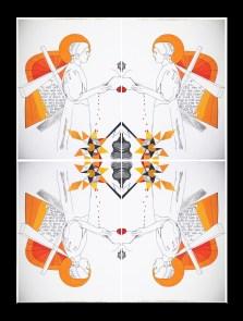 Cycles of Trauma Mirrors by Amanda K Gross