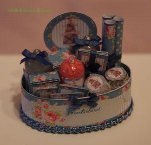 Miniaturas para casa de muñecas