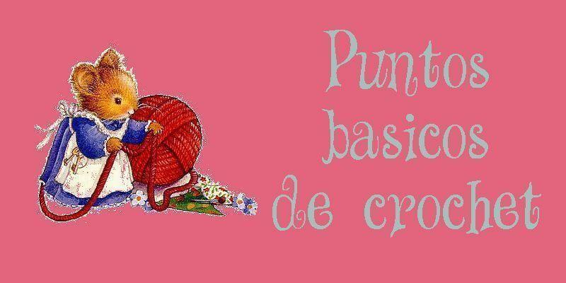 Aprender crochet paso a paso