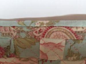Colchas de patchwork para casas de muñecas puntada escondida