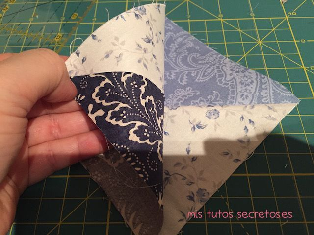 Tutorial Estrella de Ohio en Patchwork 6